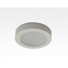 2,5W LED Möbelleuchte weiß 160lm Neutral Weiß 120Grad / 12VDC Aufbau D70 / Einbau LM66