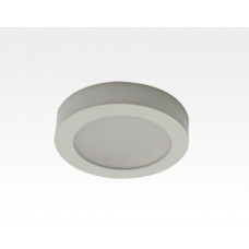2,5W LED Möbelleuchte weiß 140lm Warm Weiß 120Grad / 12VDC Aufbau D70 / Einbau LM66