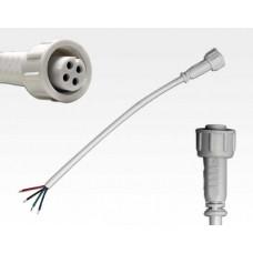 Anschlusskabel IP67 Easy Stecker RGB 4-polig / 15cm female und 1 offenes Ende