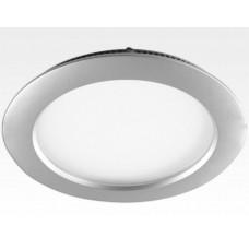 18W LED Paneel silber rund Warm Weiss dimmbar / D225mm 230VAC