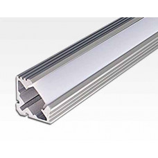 Aluminium Eck-Profil 1 m / für LED Lichtbänder max. 10x4,5mm