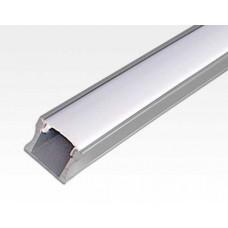 Aluminium Profil 1 m / für LED Lichtbänder max. 12.2x15