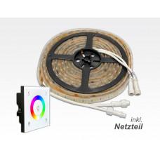 RGBN LED-Paket mit LTECH Steuerung / 5m 120W Netzteil zusätzliche weisse LED