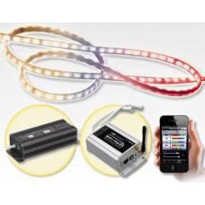 LTECH - StartKlar Paket 5m RGB Lichtband mit Smartphone App steuern