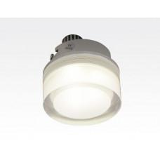 3W LED Einbau Downlight rund dimmbar Neutral Weiß / 4000-4500K 300lm 230VAC IP44 110Grad