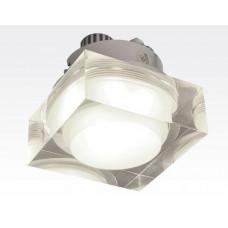 3W LED Einbau Downlight quadratisch dimmbar Neutral Weiß / 4000-4500K 300lm 230VAC IP44 110Grad