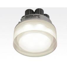 7W LED Einbau Downlight rund dimmbar Neutral Weiß / 4000-4500K 700lm 230VAC IP44 110Grad