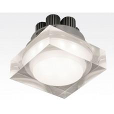 7W LED Einbau Downlight quadratisch dimmbar Neutral Weiß / 4000-4500K 700lm 230VAC IP44 110Grad