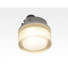 1W LED Einbau Downlight rund dimmbar Warm Weiß / 2700-3200K 90lm 230VAC IP44 110Grad