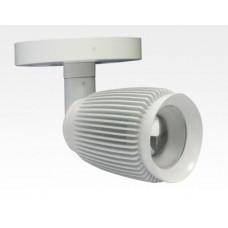 4W LED Fokus Mini Spot mit Halterung weiß rund Warm Weiß / 3000K 220lm 230VAC 21-71Grad