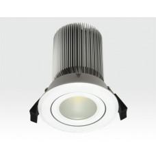 15W LED Spot weiß frosted Neutral Weiß / 750lm IP44 230VAC