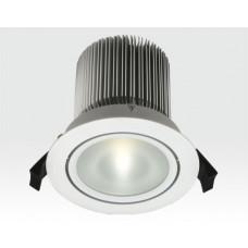 18W LED Spot weiß frosted Neutral Weiß / 900lm IP44 230VAC
