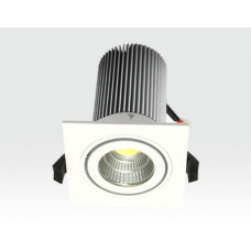 13W LED Einbau Leuchte weiß Neutral Weiß / IP44 230VAC