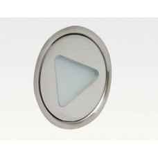 0,35W LED Outdoor Mini-Design Einbau Leuchte Warm Weiß / 5lm IP67 Easy Stecker 12VDC
