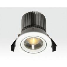 10W LED Spot weiß klar Warm Weiß / 650lm IP44 230VAC