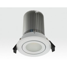 15W LED Spot weiß frosted Warm Weiß / 730lm IP44 230VAC