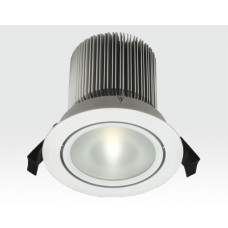 18W LED Spot weiß forsted Warm Weiß / 900lm IP44 230VAC
