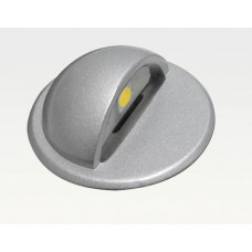 0,23W LED Outdoor Mini-Design Einbau Leuchte rund Warm Weiß / 9lm IP67 Easy Stecker 12VDC