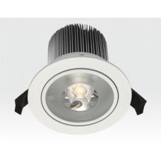15W LED Einbau Leuchte weiß Warm Weiß / IP44 230VAC