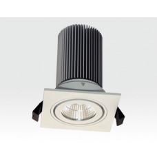 13W LED Einbau Leuchte weiß Warm Weiß / IP44 230VAC