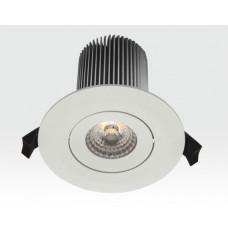 15W LED Einbau Leuchte weiß Warm Weiß / 650lm IP44 230VAC