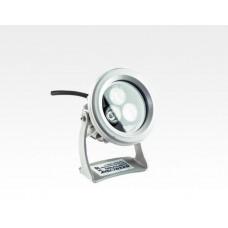 3W LED Strahler rund Neutral Weiß / 4000-4500K 240lm 230VAC IP65 60Grad