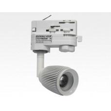 4W LED Fokus Mini 3-Phasen Schienen Leuchte 25-65Grad weiß / WarmWeiß 3000K 220lm 230VAC