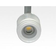 4W LED Fokus Mini 3-Phasen Schienen Leuchte 25-57Grad weiß  / WarmWeiß 3000K 220lm 230VAC