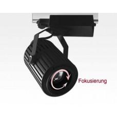 60W LED 3-Phasen Schienen Leuchte 24-60Grad einstellbar / schwarz Neutral Weiss 5600lm 230VAC