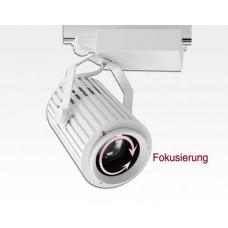 60W LED 3-Phasen Schienen Leuchte 24-60Grad einstellbar / weiss Warm Weiss 5600lm 230VAC