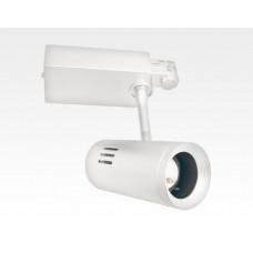 30W LED 3-Phasen Schienen Leuchte 24-60Grad einstellbar / weiss Warm Weiss 2800lm 230VAC