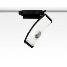 23W LED Leuchte weiss dimmbar für 1 Phasen Schienen 2000lm / Warm Weiss 3000K 230VAC