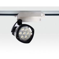 7W LED Schienen Leuchte für 3-Phasen Schienen / weiß Neutral Weiss 674lm 25Grad 230VAC