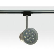 12W LED Schienen Leuchte für 3-Phasen Schienen / weiß Neutral Weiss 720lm 230VAC