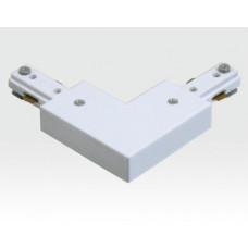 L-Adapter für EIn-Phasen Schienen Weiß
