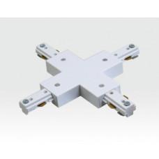 X-Adapter für Ein-Phasen Schienen Weiß