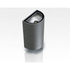10W LED Wandleuchte Tageslicht Weiß Grau / 1000lm IP54  230VAC
