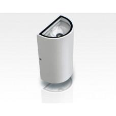 10W LED Wandleuchte Tageslicht Weiß Weiß / 1000lm IP54  230VAC