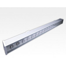 18W IP65 LED Wall Washer Fassadenstrahler Neutral Weiss / 24VDC 1000mm 120° dimmbar