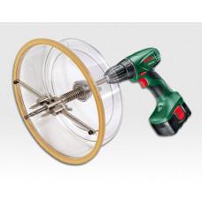 Lochschneide Aufsatz 40 bis 200mm für Bohrmaschine / im Koffer mit Zubehör