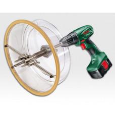 Lochschneide Aufsatz 40 bis 300mm für Bohrmaschine / im Koffer mit Zubehör