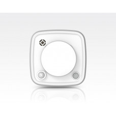 Mini Funk-Brandmelder integrierte Notbeleuchtung & Sirene / Meldet Rauch-Hitze-Bewegung EN14604