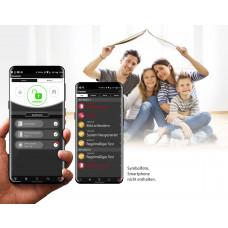 Fernschalten bestehender Alarmsysteme - Mit der Möglichkeit von / PushNachrichten als kostenloses Service