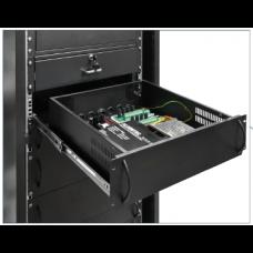 Einbaugehäuse 3U sabotagegeschützt für Alarmsysteme und Zubehör / 3U/400mm ARAD3