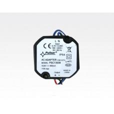 Einbaunetzteil-Schalterdose 13,8VDC 800mA