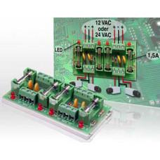 Spannung Verteil- und Sicherungsmodule 4x1,5A