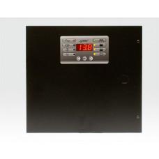13,8VDC/1A Netzteil im Metallgehäuse 275x255x88mm mit Display / für I und U, max. 7,2Ah, Fernabfrage