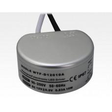 Einbaunetzteil Mini 230VAC/12VDC 10W