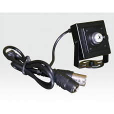 "1/3"" SONY Super HAD CCD Compact-Kamera Pinhole ""SchraubenDesign"" / 420TVL 0.8Lux f3.7mm"