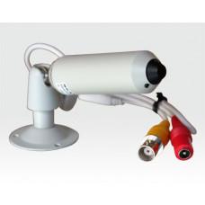 """1/4"""" CCD Stift Kamera kompakt Pinhole / 380TVL 1Lux f3.7mm erw.Gegenlichtkomp."""